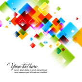 Intensive Colors Background — Stock Vector