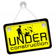 Under construction sign — Stock Photo #7379681