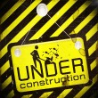 Royalty-Free Stock Photo: Under construction sign symbol