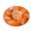 Slices of mandarin — Stock Photo