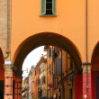 Street Scene, Bologna, Italy - Stock Photo
