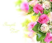 Roses bouquet — Stock Photo