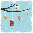 Winter card — Stock Vector #7802049