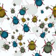 Bugs pattern - Stockvektor