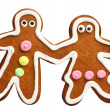 Gingerbread couple — Stock Photo #7875135