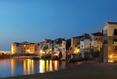 Cefalu city, Sicily — Stock Photo