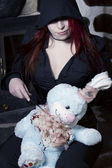 Asesino de conejo — Foto de Stock