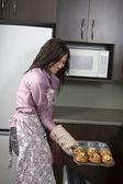 Ficando os muffins — Foto Stock