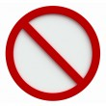 ������, ������: Forbidden sign