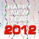 Happy New Year 2012 illustration — Stock Photo #7806303