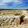 Scene from ruins of Roman fort in Romania — Foto de Stock