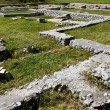Ruins of a Roman fort in Transylvania — Stock Photo
