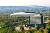 Scene with Arena stadium from Cluj-Napoca, Romania — Stock Photo