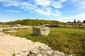 Ruins of Potaissa, Roman fort in Romania — Stock Photo