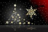 圣诞树 — 图库矢量图片