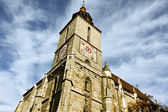 The Black Church, cathedral from Braşov city — Foto Stock