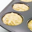 Banana Muffins - Stock Photo