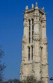 Saint-Jacques Tower, Paris, — Stock Photo