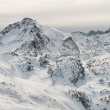 Panorama of Pyrenees mountains — Stock Photo