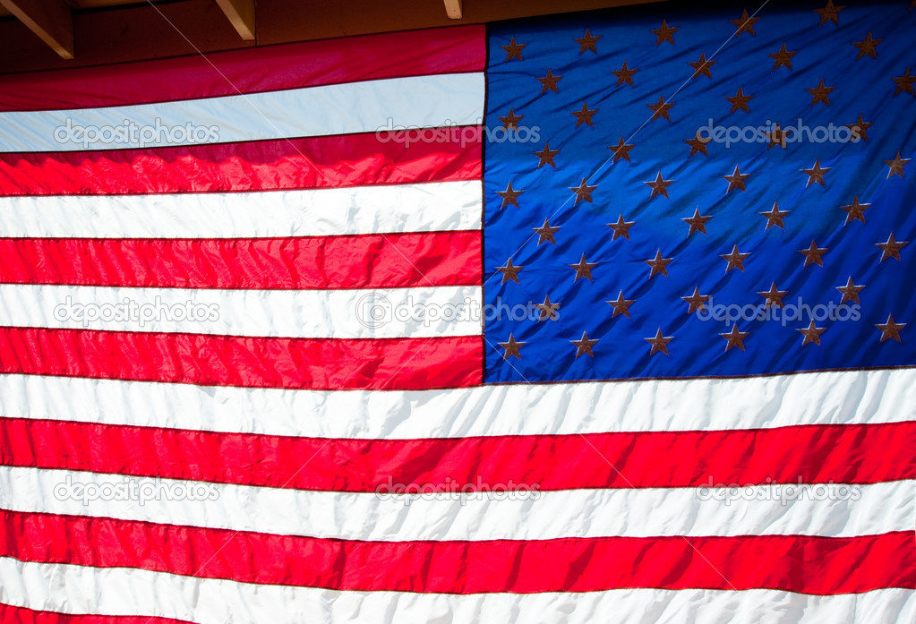 Flag of the United States of America — Stock Photo #6823971