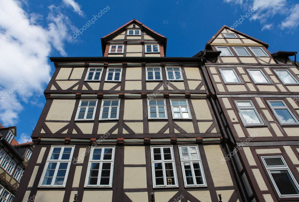 Historical architecture in Hannover, Lower Saxony, Germany  Stock Photo #6757886