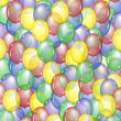 Balloon background — Stock Photo