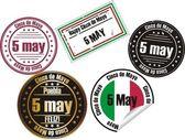 Cinco de mayo stamp — Stock Vector