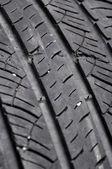 Damaged tire — Stock Photo