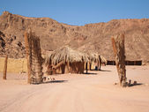 Bedouin village — Stock Photo