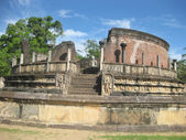 The ruins of old temple — Stockfoto