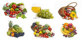 The group of vegetables and fruits — Stock Photo