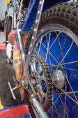 Sport motorbike — Stock Photo