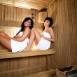 Young Women in sauna — Stock Photo #7820007