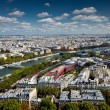 The landscape of Paris city — Stock Photo
