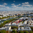 Royalty-Free Stock Photo: The landscape of Paris city