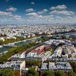 The landscape of Paris city — Stock Photo