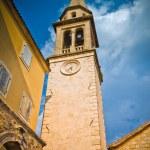Sveti Ivan Church in Budva old town — Stock Photo