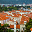 The roofs of old town Budva, Montenegro — Stock Photo