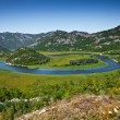 The Skadar lake, Montenegro — Stock Photo