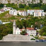Kotor city view, Montenegro — Stock Photo