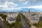 The landscape of Paris city, France — Stock Photo