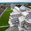 Cathedral La piazza del Suomo in Pisa, Italy — Stock Photo