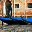 Royalty-Free Stock Photo: Gondolas in Venice city, Italy