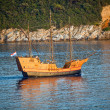 The ancient old ship, Dubrovnik, Coatia — Stock Photo
