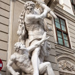 The statues of Hercules in Vienna, Austria — Stock Photo