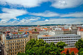 Vienna view from the roof — Stock Photo