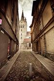La calle de cesis, letonia — Foto de Stock