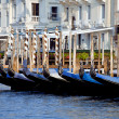 Gondolas in Venicy city, Italy — Stock Photo