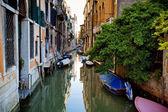 Venetian canal in Venicy city — Stock Photo