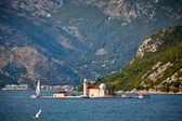 Isla saint george, montenegro — Foto de Stock